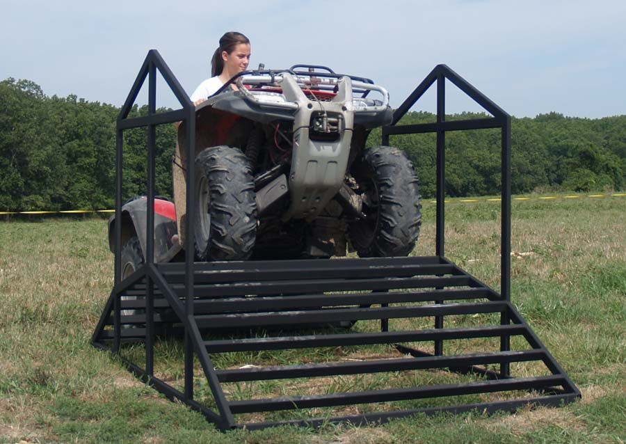Introducing The Earth Atv Cattle Guard Tired Of Opening