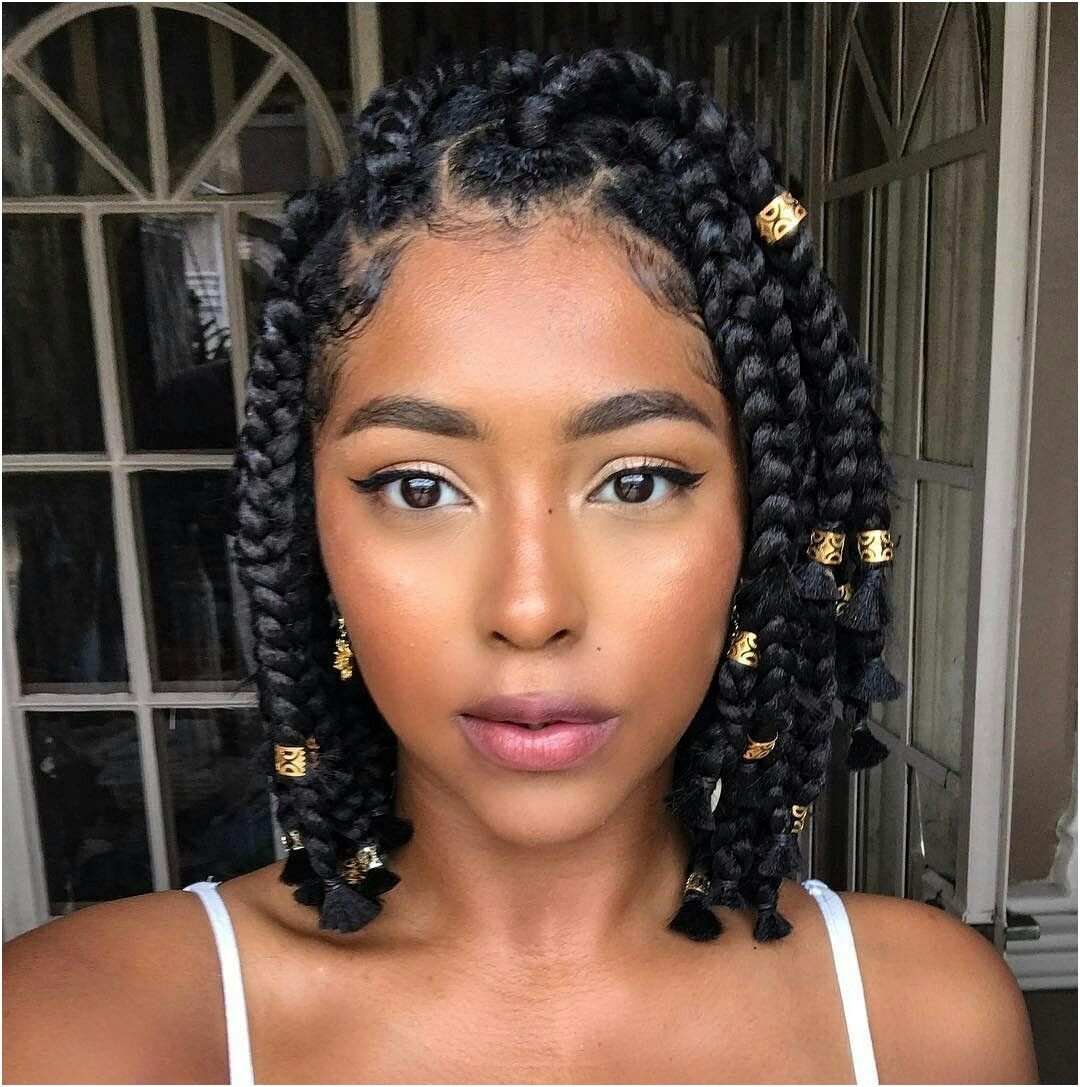 12 Expert Quick Braid Hairstyles Cute Check More At Https Www Maneleradio Net 12 Expert Qu Short Box Braids Hairstyles Short Box Braids Bob Braids Hairstyles