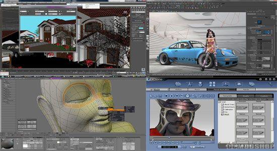 3d Model Max Maya Blender Iclone Software Free Download With