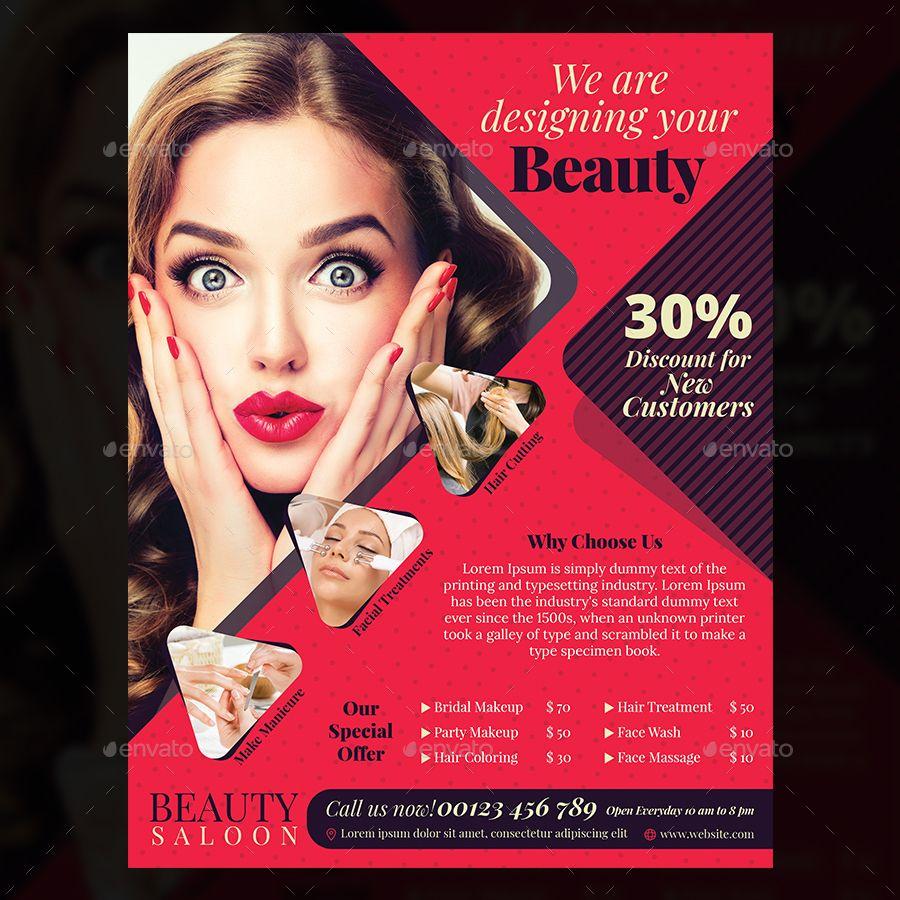 beauty salon flyer beauty salon