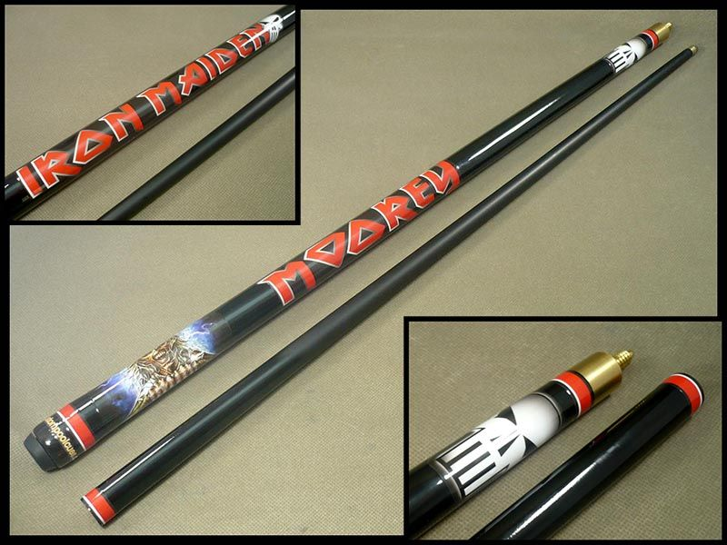 This Custom Pool Cue Was Made For An Iron Maiden Fan I Love Heavy