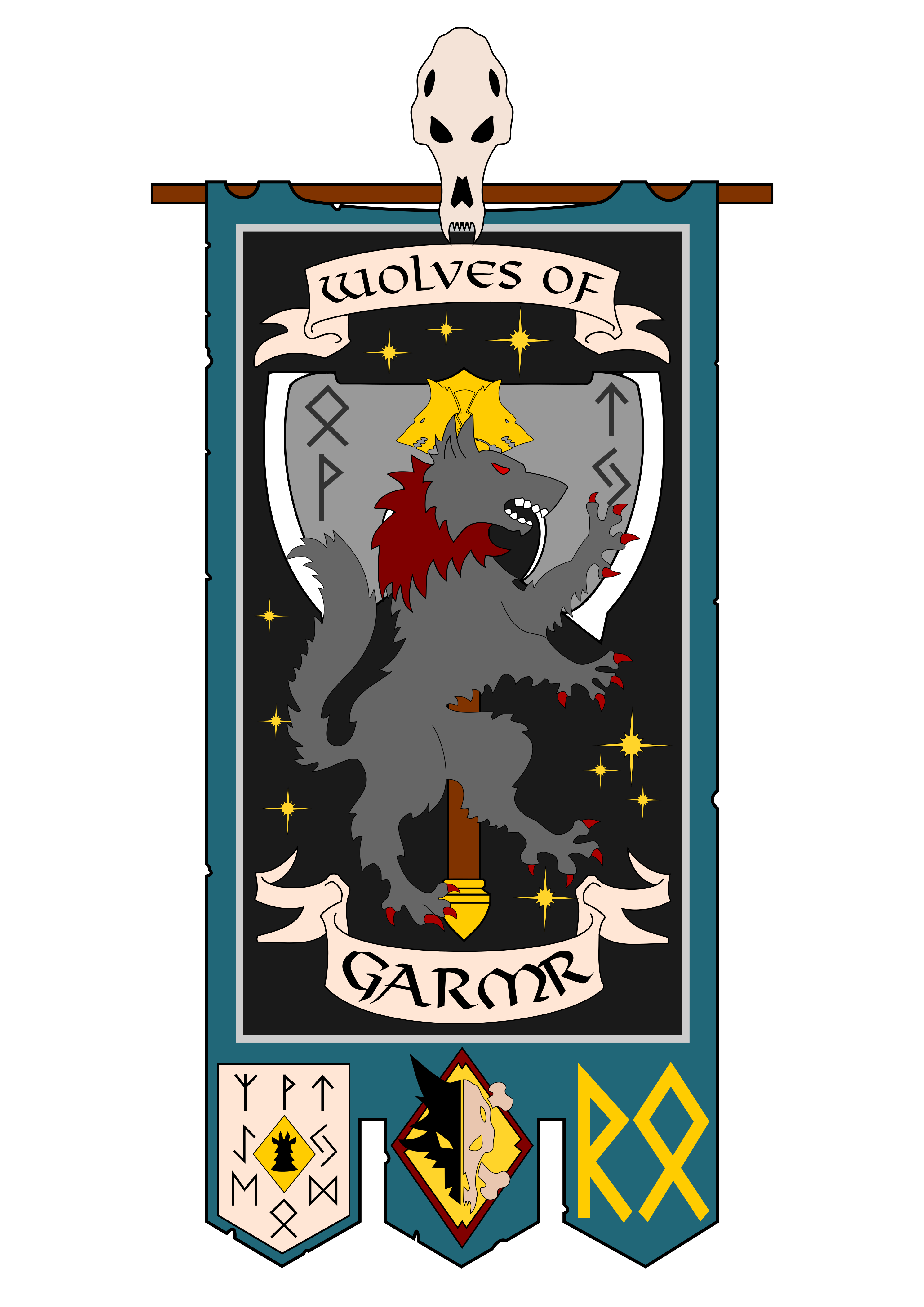 Space Wolves Banners http://i.imgur....