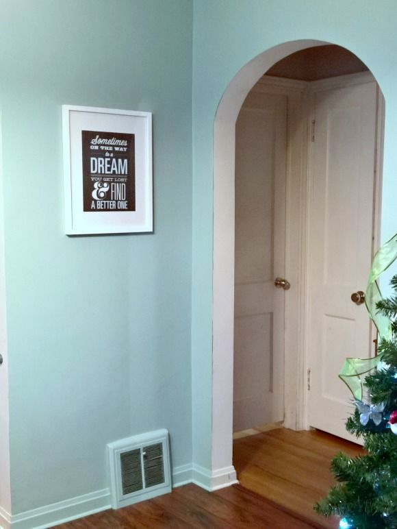 Dining Room Makeover Featuring Pittsburgh Paints Stains Color Of The Year For 2016 Holly