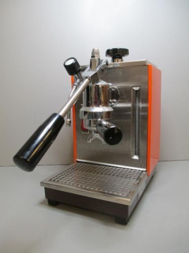 Orange Espresso Machine Cremina By Olympia Made In Switzerland Espresso Machine Espresso Made In Switzerland