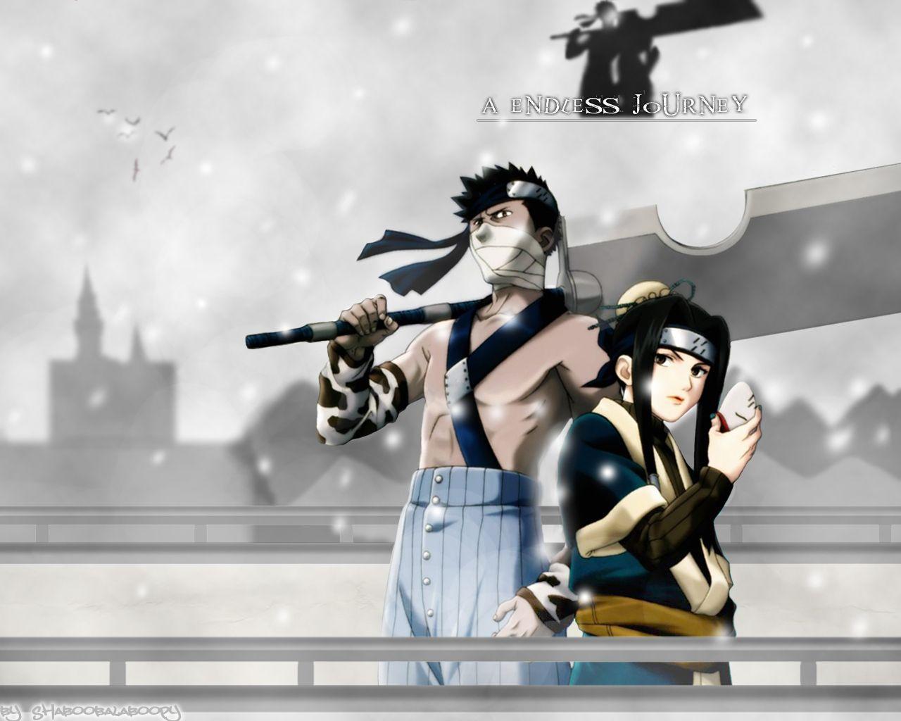 Zabuza And Haku Anime Naruto Wallpaper