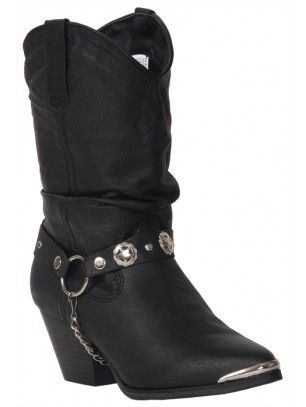 882866a2234 Sassy Bailey Black Cowboy Boots for Women by Dingo DI 522 in 2019 ...