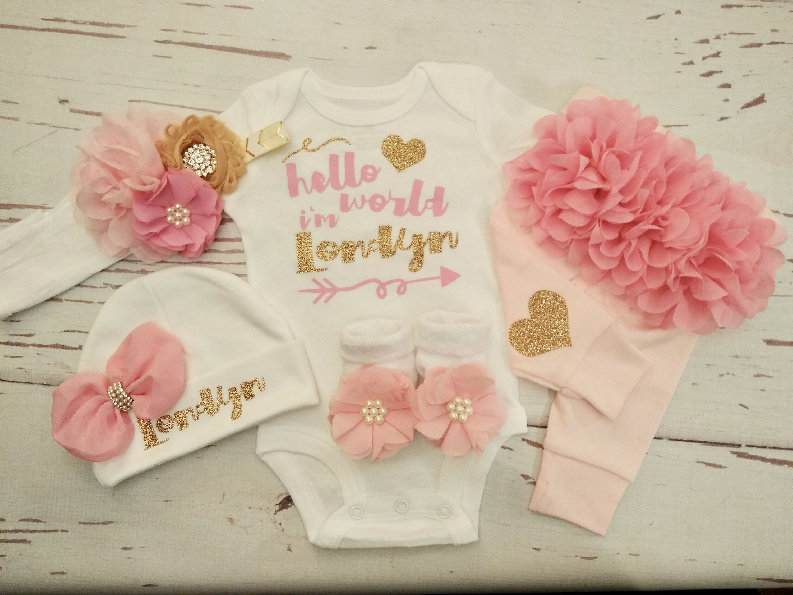Baby Girl Outfits New Born Newborn Baby Girl Coming Home Outfit