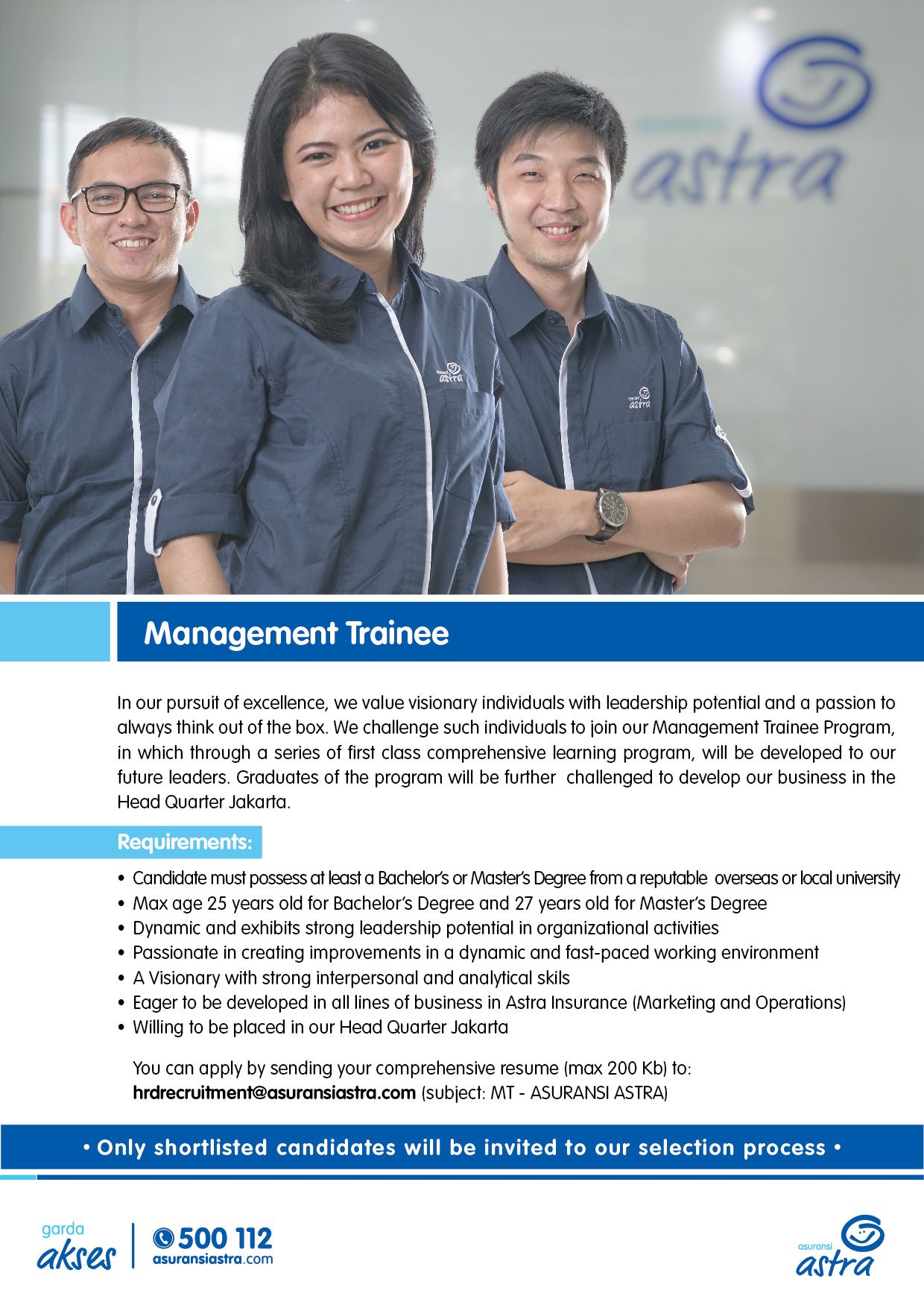 open! 9 position from toyota astra financial services as mt, ae