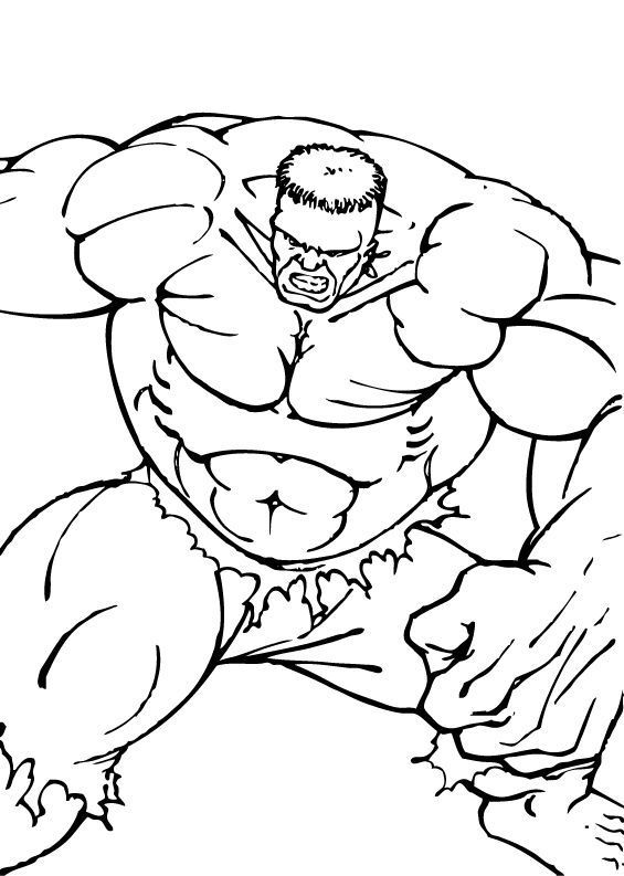 hulk's muscles  super coloring pages superhero coloring