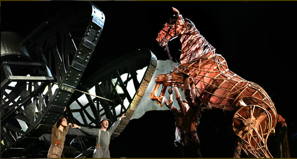 A scene from the incredible play War Horse | work in progress ...