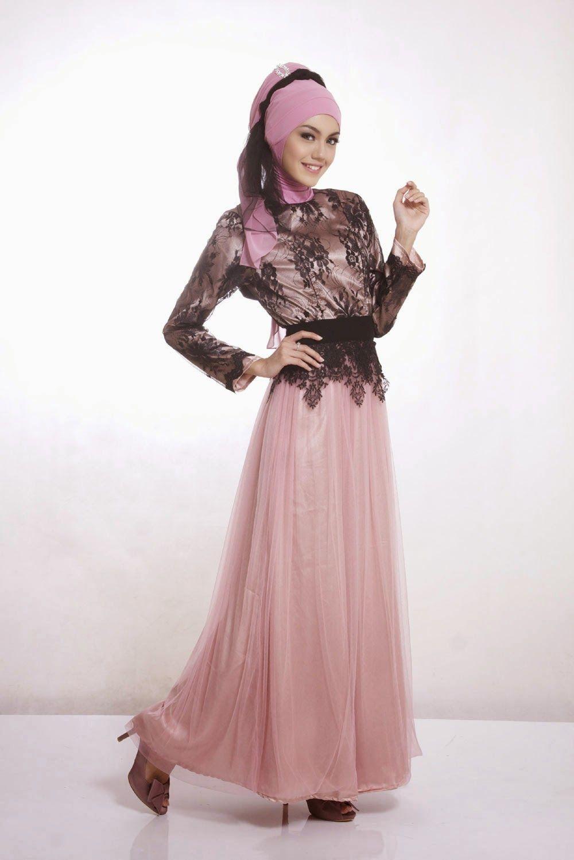 Baju Kebaya Modern Untuk Wanita Muslimah Model Busana
