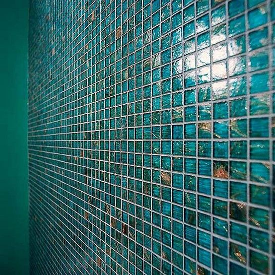 Teal Bathroom Tiles Peacock Color Gorgeous With Images
