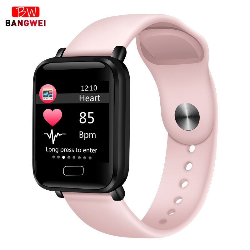2019 New Women Smart watches Waterproof Sports For Iphone phone Smartwatch Heart Rate Monitor Blood Pressure Functions For kid | TrustEdg is the Best buy & selling point for you!!!