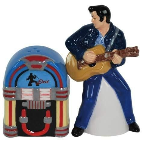 4.25 Inch Elvis Presley And Juke Box Salt And Pepper Shakers by WL. $19.99. This gorgeous 4.25 Inch Elvis Presley And Juke Box Salt And Pepper Shakers has the finest details and highest quality you will find anywhere! 4.25 Inch Elvis Presley And Juke Box Salt And Pepper Shakers is truly remarkable.4.25 Inch Elvis Presley And Juke Box Salt And Pepper Shakers Details:Condition: Brand NewItem SKU: SS-WL-18374Dimensions: H: 4.25 (Inches)Crafted with: Ceramic. Save 47%!