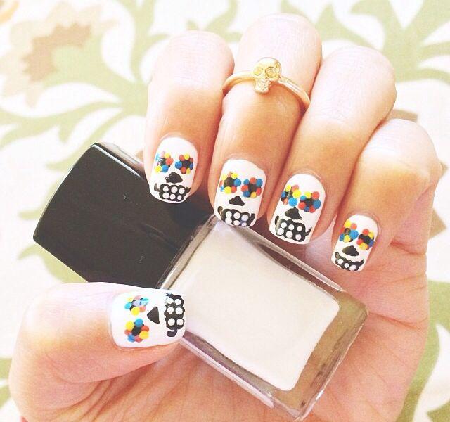 Love this nail idea!