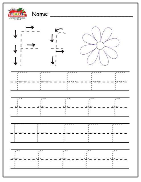 Trace Letters | Preschool Lesson Plans | C H I L D \' S - P L A Y ...