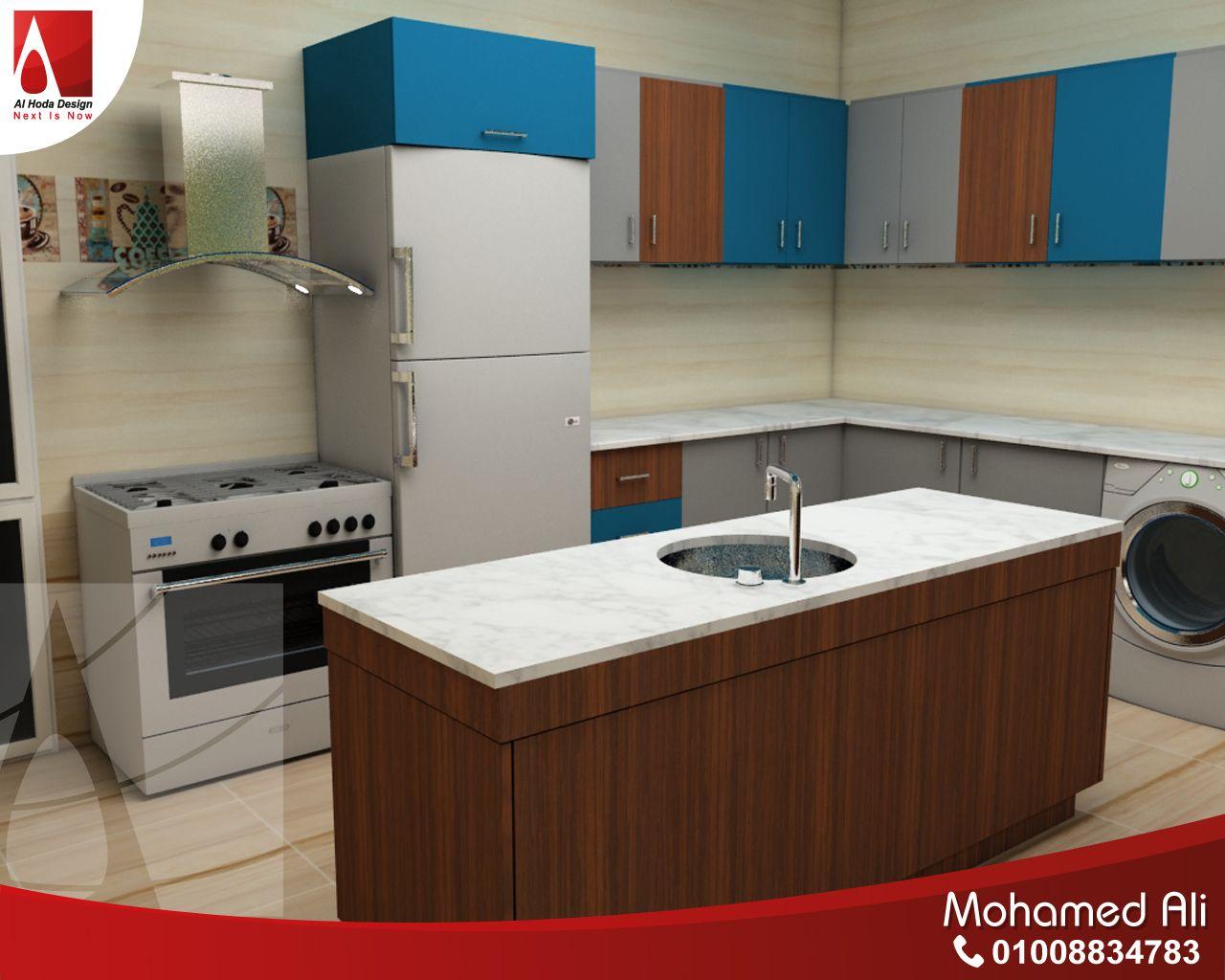 كاونتر للمطبخ مفتوح على الصالة Kitchen Home Decor Home