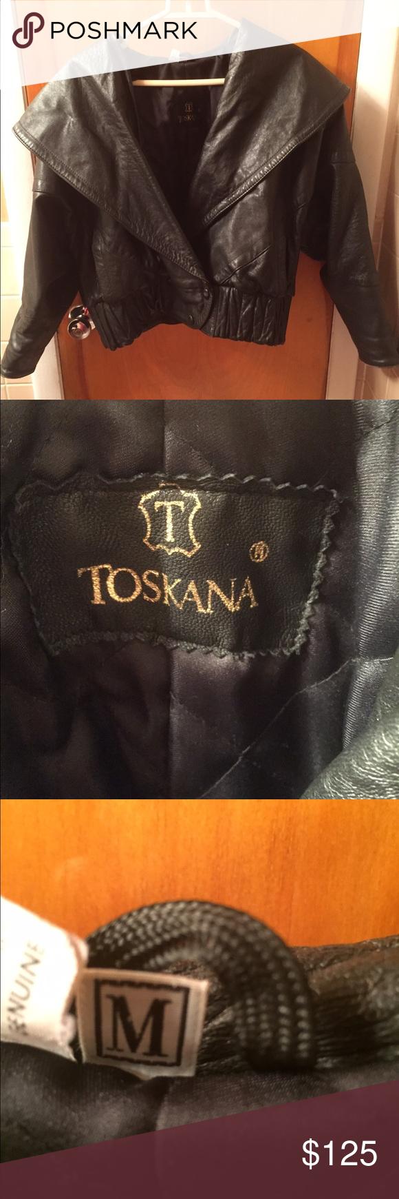 100 leather jacket. Made in Turkey. Sz.M. Ladies