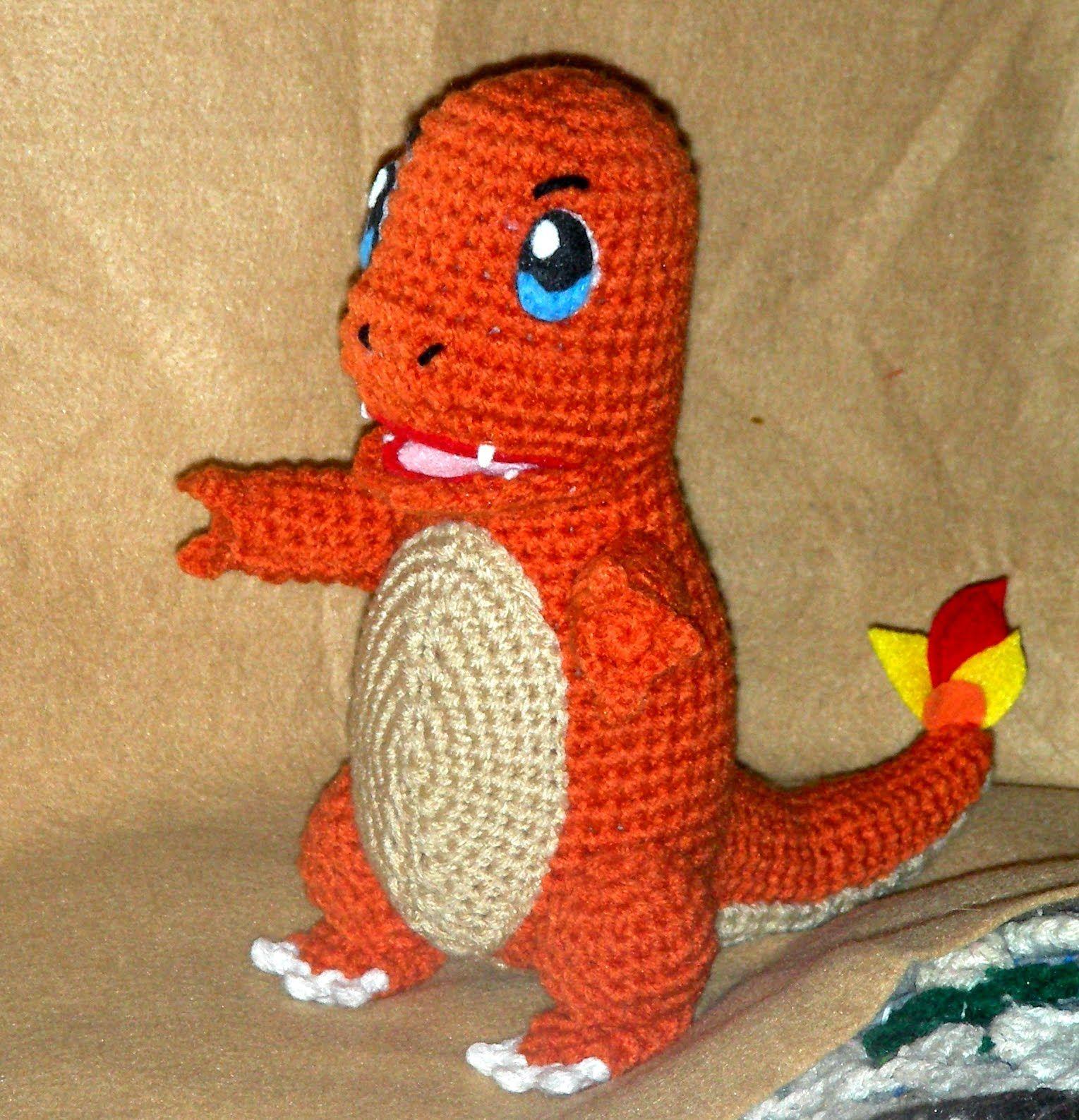 Gotta catch \'em all! Make this adorable amigurumi Charmander with ...