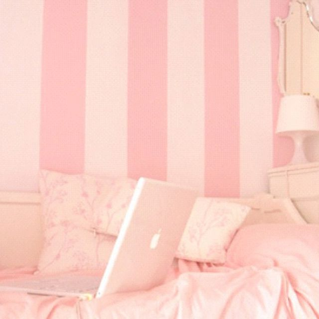 Cotton Candy Pink Room.