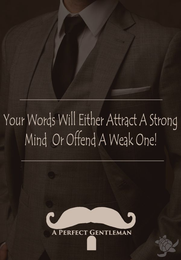 Your Words Will Either Attract A Strong Mind Or Offend A Weak One!