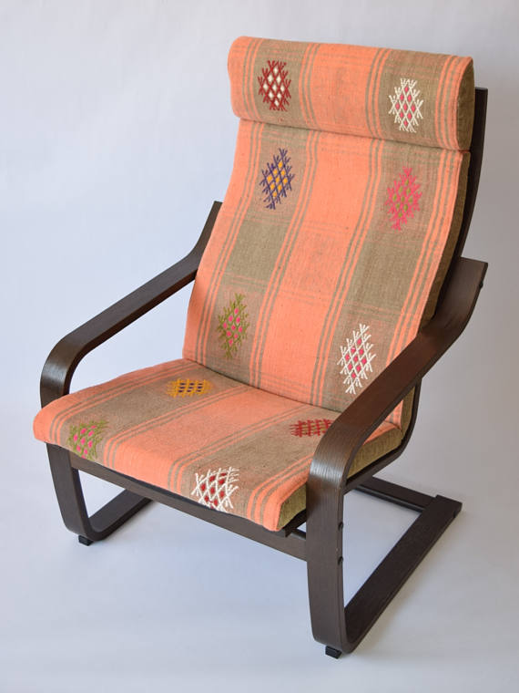 Poang Chair Cover Bohemian Furniture Ikea Cov Slipcover Moroccan