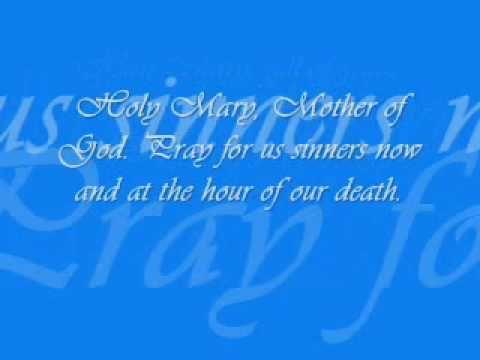 HAIL MARY (RELIGIOUS SONG) LYRICS | for church | Power of