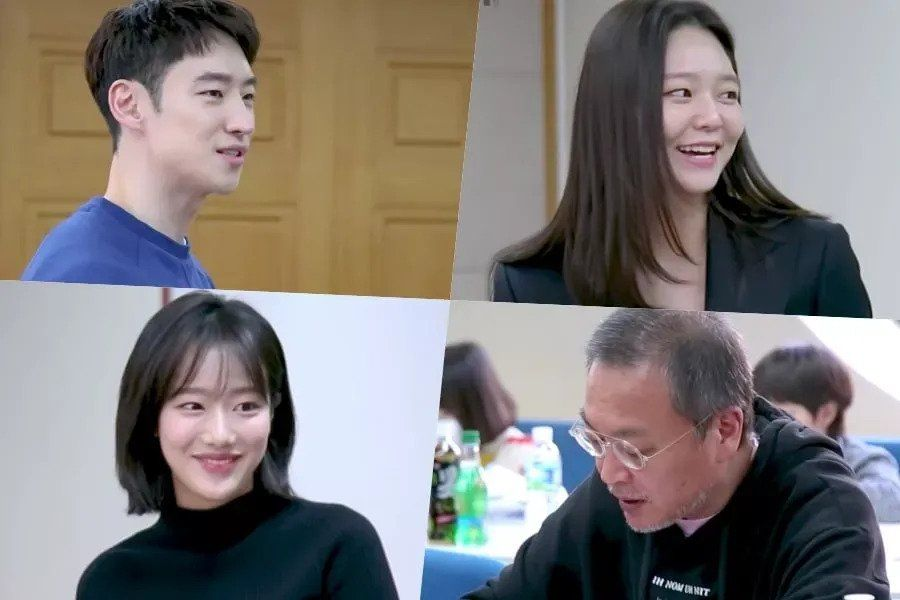 Watch: Lee Je Hoon, Esom, Kim Eui Sung, APRIL's Naeun, And More Hold Script Reading For Upcoming Drama
