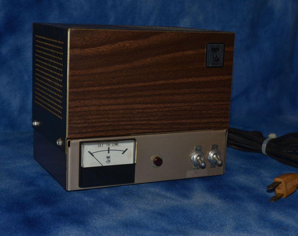 Wawasee Black Cat jb-12 modulator two tube Ham Radio Linear