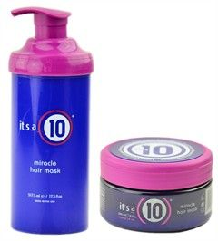 it's a 10 ten - miracle hair mask it's a must behind the chair