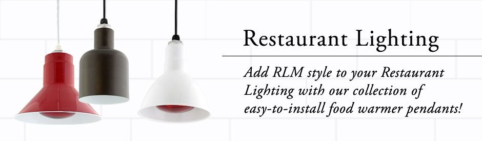 Restaurant Lighting Food Warmers Pendant Lighting - Commercial kitchen pendant lighting