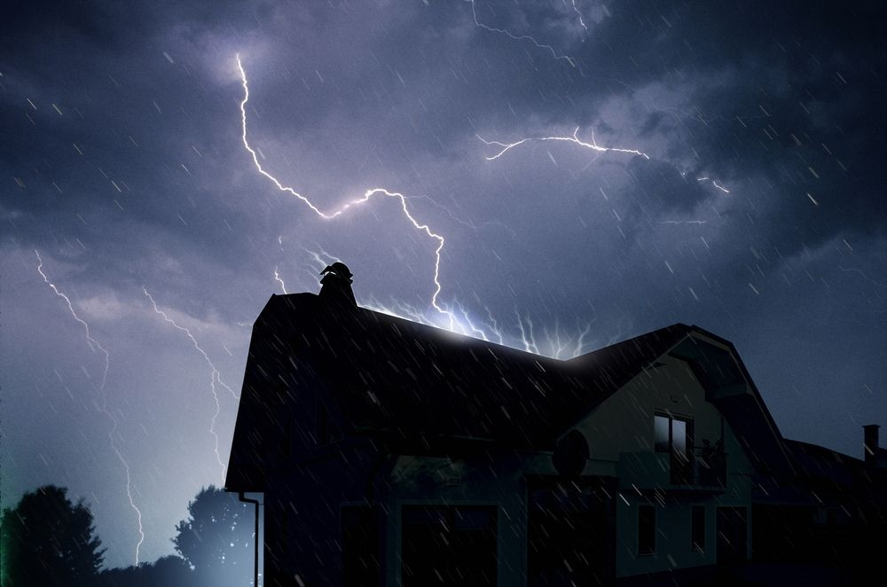 Lightning Strikes Your Roof | Knockout Roofing | Utah