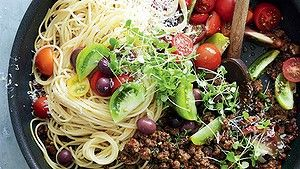 Summer bolognese from Donna Hay: New Classics, Harper Collins $59.99.