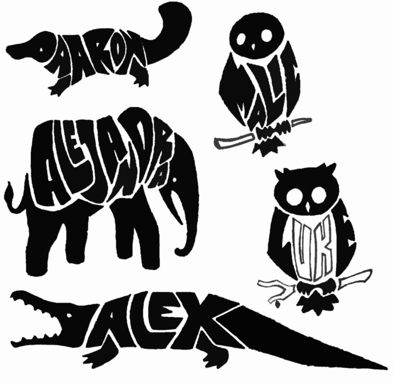 Tribal Name Tattoo Design: Animal Tattoos, Tribal Animals