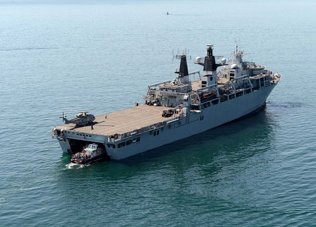 HMS Bulwark: Christmas road test – CVS Vehicle Servicing