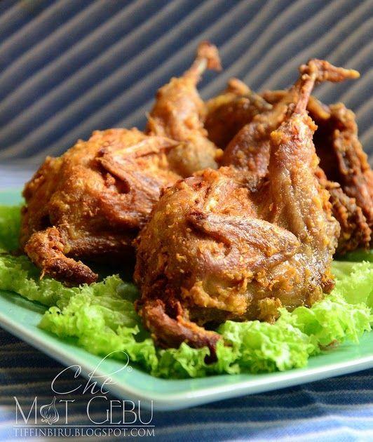 Puyuh Goreng Berempah Food Recipes Dinner Recipes