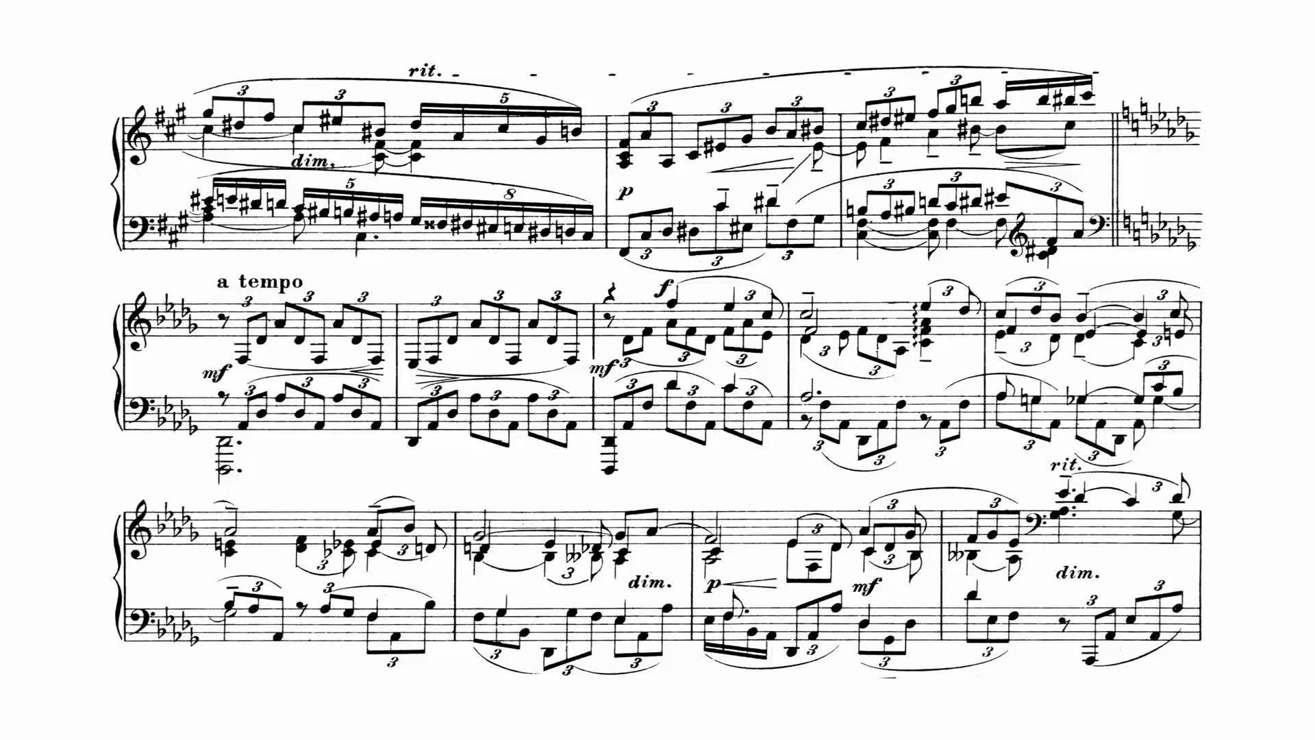 Rachmaninoff Piano Concerto 3 Weissenberg 1968 With Score Rachmaninoff Classical Music Piano