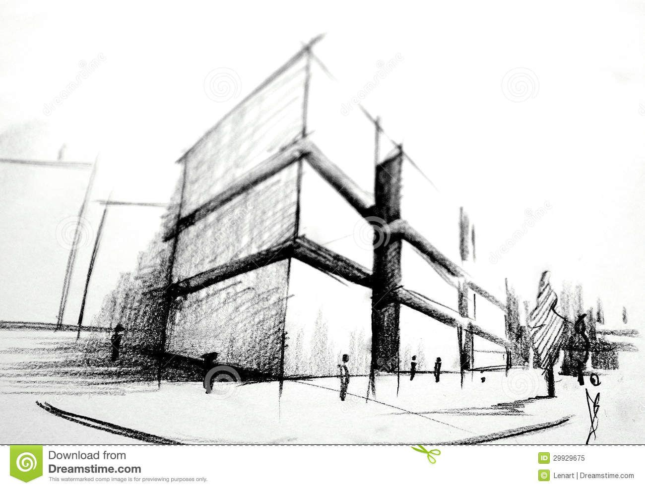 Architecture sketch buscar con google architecture for Architecture house drawing