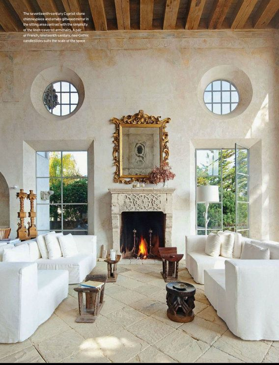 Italian Living Room Design: Mediterranean Style Living Room