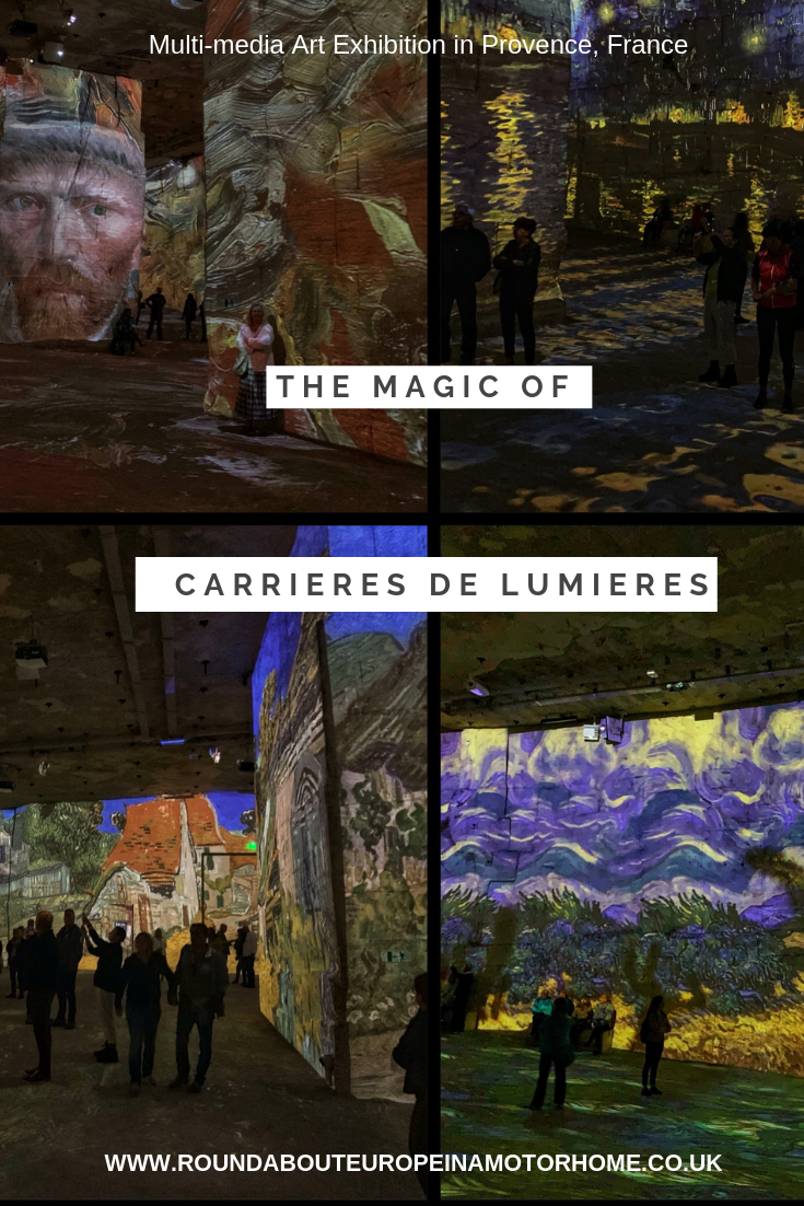 The Magic Of Carrieres De Lumieres In Provence France Travel Travel Vacation Getaways