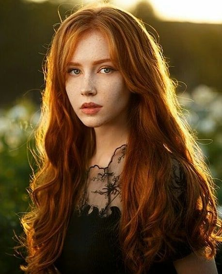 girl Red hair
