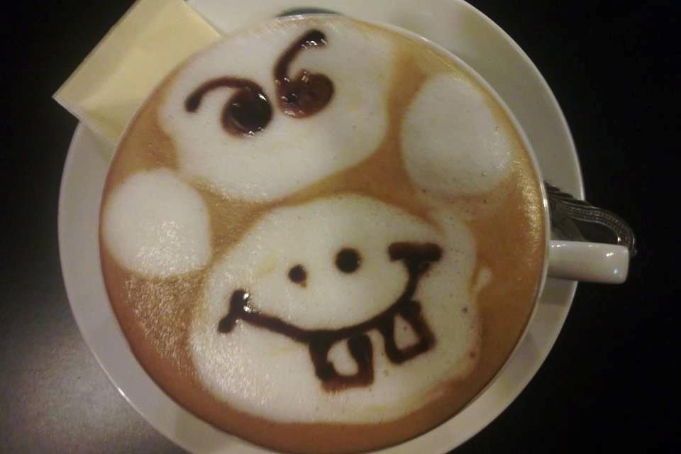 Cafe Latte for my dearest friend Mamat lisham