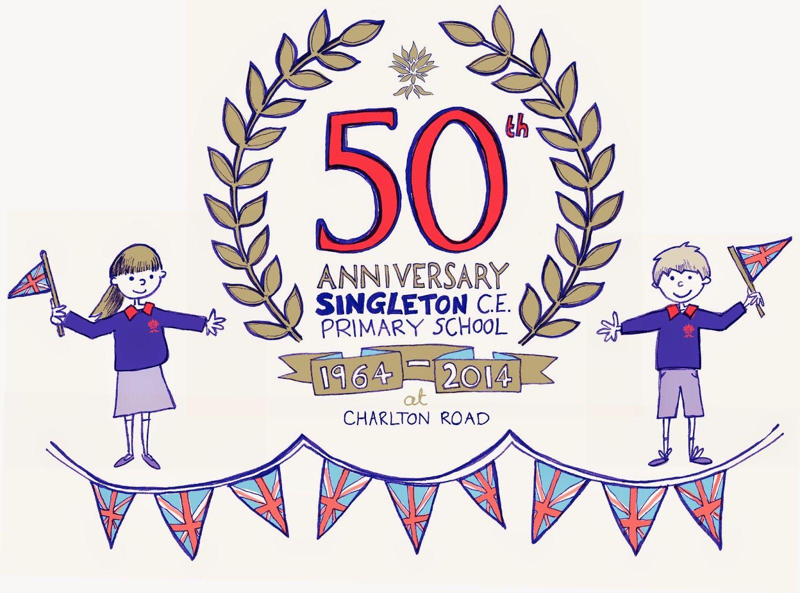 Anniversary logo by poppi