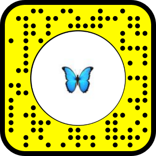 Snap To Unlock Snapchat Blue Butterfly Snapchat Filters Butterfly
