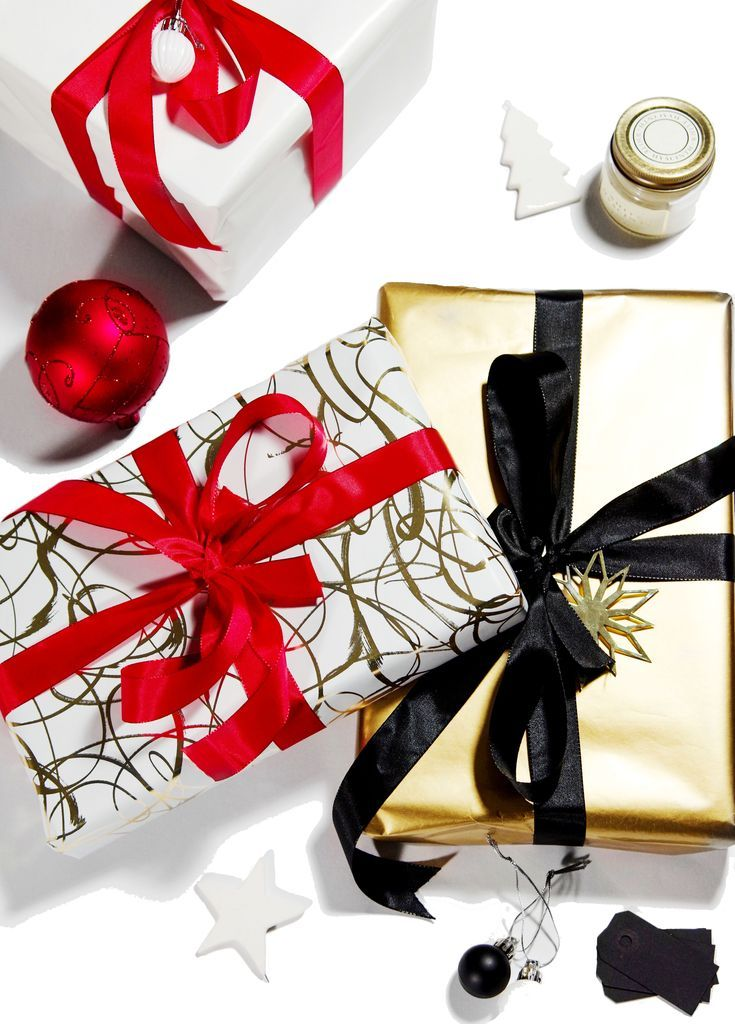 Free guide to perfectly wrapped gifts Wrapped gifts, Christmas