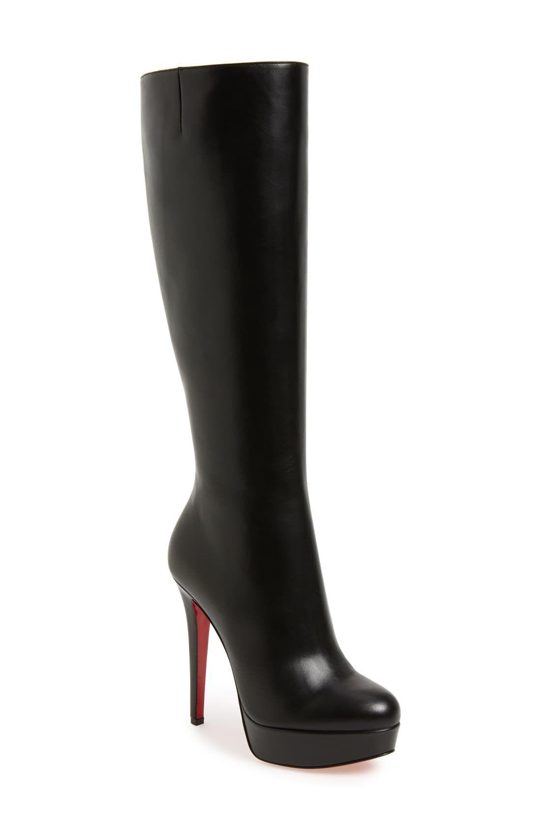 new style dfe66 29106 Women's Christian Louboutin 'Bianca Botta' Platform Boot ...