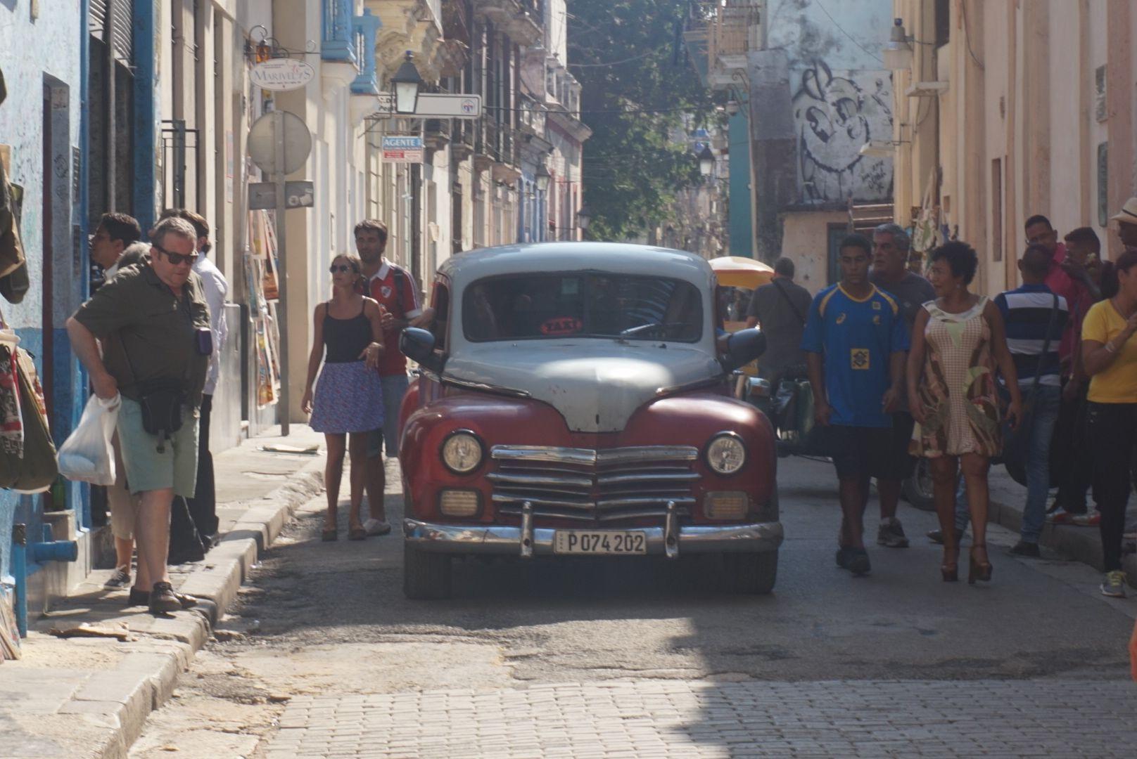 le strade de Cuba