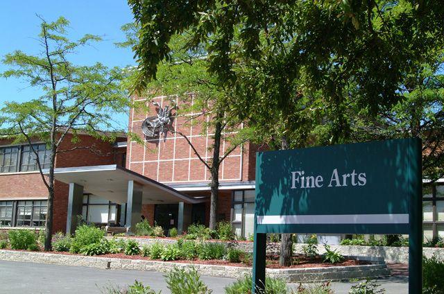 the fine arts building binghamton
