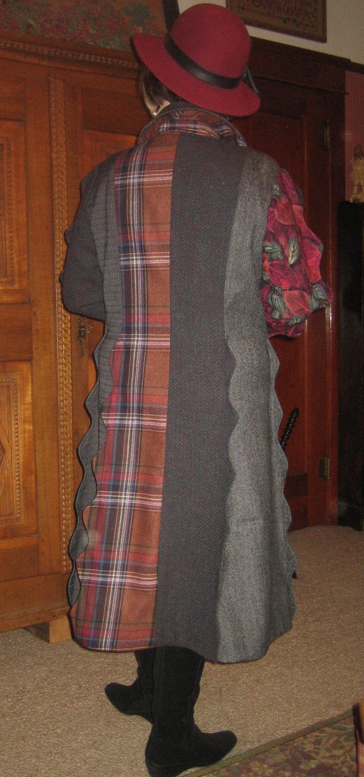 koos van den akker patterns   Vogue 1213 Koos Van Den Akker design coat