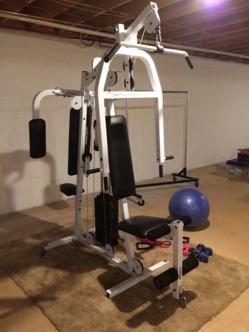marcy md-5191 smith cage home gym video